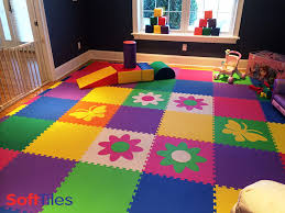 Start Thinking About Spring With This Large Colorful Kids - Flooring for kids room