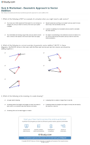 physics vector worksheet free worksheets library download and