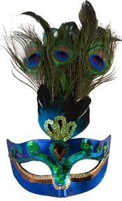 peacock masquerade mask women s peacock accessories party city