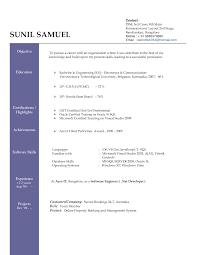 interesting resume format software free download on job resume