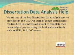 Dissertation Data Analysis Help for PhD Students   Chanakya Research