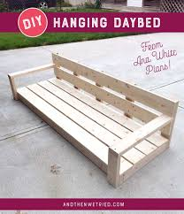 diy hanging daybed part 1 and then we tried
