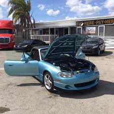 blue mazda mx 5 miata in florida for sale used cars on