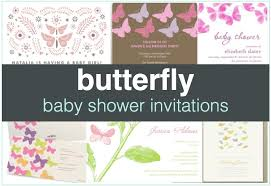 butterfly baby shower invitations shower that baby