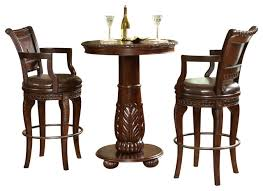 three piece table set bar table and chairs steve silver antoinette 3 piece pub table set