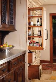 cabinet couture western home journal a kitchen with unique pieces offers unique storage solutions like these thin but long pantry cabinets