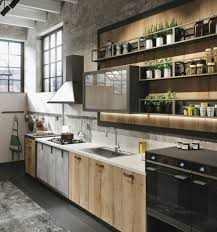 meuble cuisine industriel cuisine industrielle l élégance brute en 82 photos exceptionnelles