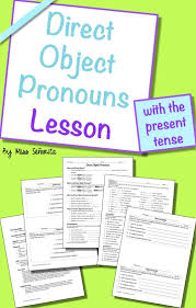 106 best object pronoun images on pinterest teaching spanish