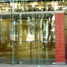 metal glass doors doors featuring herculite glass personnel doors doors