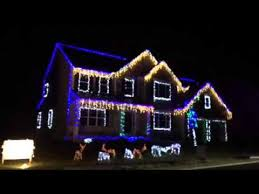 christmas light show house music christmas light show 2015 synced to music youtube
