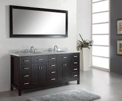 Black Painted Bathroom Cabinets Magnificent Modern Double Sink Bathroom Vanity Cabinets Using