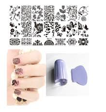 popular nail stamping kit 10 plates buy cheap nail stamping kit 10