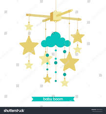 Baby Shower Invitations Cards Designs Vector Baby Mobile Baby Shower Invitation Stock Vector 392314870