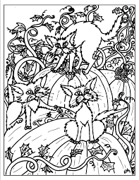 halloween for adults free coloring pages on art coloring pages