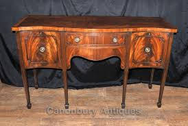 Antique Server Buffet by Antique Sheraton Sideboard Server Buffet Flame Mahogany 1920s Ebay