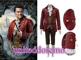 Gaston Halloween Costume Movie Beauty Beast Gaston Cosplay Costume Halloween Men U0026