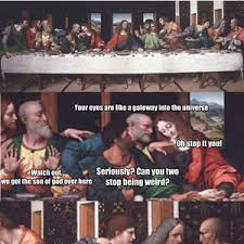 Last Supper Meme - last supper shenanigans by shibblehiggins meme center