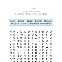 community helpers worksheets all kids network