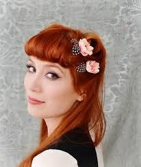 1950s hair accessories vintage bridal hair accessories dotty vintage weddings