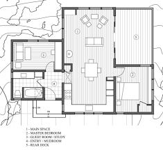 Floor Plans For Small Cabins by Gallery A Cottage In The Redwoods By Cathy Schwabe Small House