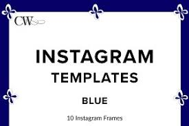 instagram template pack tropical instagram templates