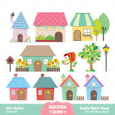 of homes clipart