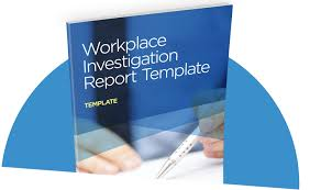 investigation report template workplace investigation report template i sight