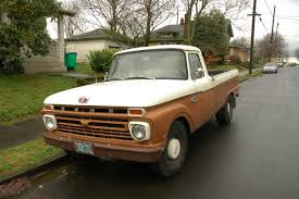 Classic Ford Truck Suspension - old parked cars 1966 ford f 250