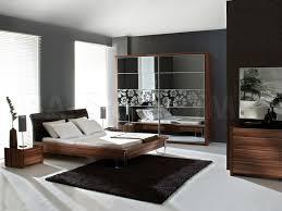 white ceramic flooring tile with black soft carpet has bedstead