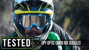 smith motocross goggles spy optic omen mx goggles reviews comparisons specs mountain