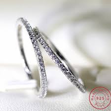 zircon wedding rings images Real eternity ring stone 5a zircon birthstone 925 sterling silver jpg