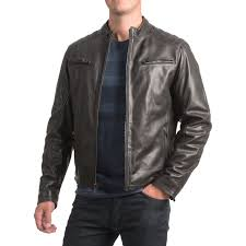 moto jacket bod u0026 christensen sheepskin leather moto jacket for men save 68