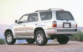 toyota suv used used 1999 toyota 4runner suv pricing for sale edmunds