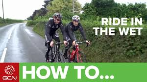 best cycling rain gear how to ride in rain and wet weather youtube