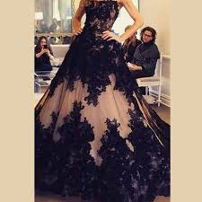 party wear gowns black chagne gown quinceanera dresses prom evening pageant