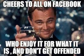What Is Meme On Facebook - leonardo dicaprio cheers meme imgflip