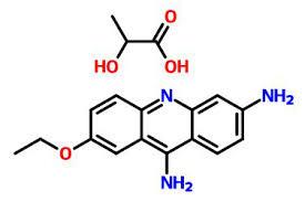 Salep Rivanol bahan baku bubuk ethacridine lactate rivanol api cas 1837 57 6