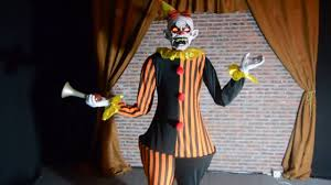 honky the clown animated halloween prop haunted house seasonal