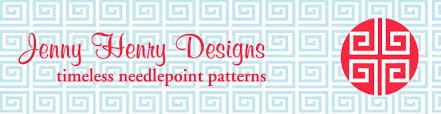 jennyhenrydesigns timeless needlepoint patterns