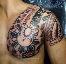 for sleeve shoulder s shoulder tribal chest designs s