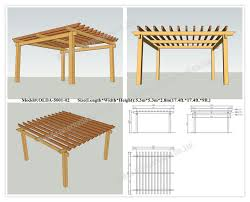 Building Your Own Pergola by Plans To Build Your Own Pergola