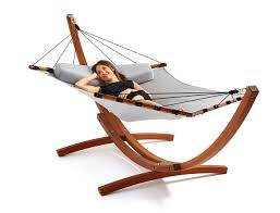 Indoor Hammock With Stand Get Out Modern Hammocks From Lujo Design Milk