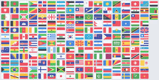 Flag Of All Countries Free Flat Countries Flags Psd Free Psd Vector Icons