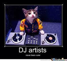 Dj Meme - dj cat by recyclebin meme center