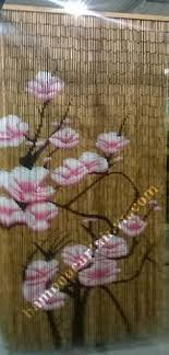 Painted Bamboo Curtains Pin By Cty Tnhh Mtv Tcmn Thanh Truc On Bamboo Curtain