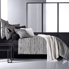 New York City Duvet Cover Flen Black And White Striped Comforter Bedding By Oscar Oliver New