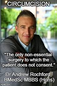 Andrew Meme - dr andrew rochford on circumcision intactivist net