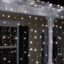 cool white led mini christmas lights christmas icicle light 150 lite curtain mini set clear 5mm cool