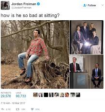 Weird Funny Memes - everyone is making fun of this picture of donald trump jr daily