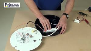 how to install an earlsmann led replacement 2d lamp youtube